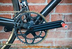 Worlds Lightest Bike - chainring