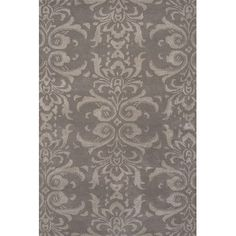 JaipurLiving Timeless By Jennifer Adams Wool and Art Silk Hand Tufted Opal Gray Area Rug Rug Size: