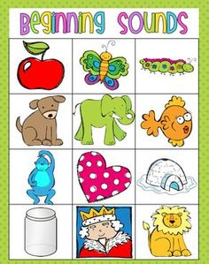 Freebie: Beginning Sounds and Word Work activities
