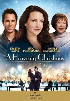 """A HEAVENLY CHRISTMAS"" --wonderful holiday film written by Gregg McBride is now a heartwarming holiday novel by Rhonda Merwarth available from Hallmark Publishing! Hallmark Christmas Movies, Hallmark Movies, Movies Showing, Movies And Tv Shows, Kristin Davis, Christian Videos, Christmas Countdown, Christmas 2016, Family Values"