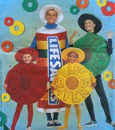 Lifesavers Candy Costume Sewing Pattern