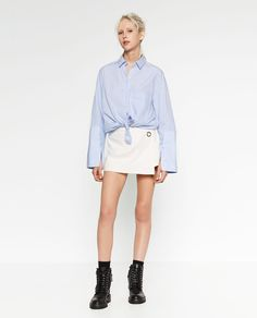 Image 1 of CROSSOVER CULOTTES from Zara