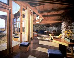 Solar Hemicycle Usonian - Herbert and Katherine Jacobs Second House | Frank Lloyd Wright