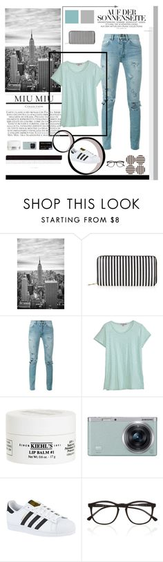 """""""New Template - up for use!!"""" by lover-of-pie ❤ liked on Polyvore featuring New Look, Yves Saint Laurent, Calypso St. Barth, Kiehl's, Samsung, adidas, Illesteva and Henri Bendel"""