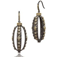 METROPOLITAN Oval Cage Earrings - FREIDA ROTHMAN