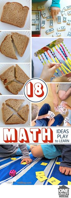 Painless ways to make math fun and engaging with your kids. Interactive math games children will love.