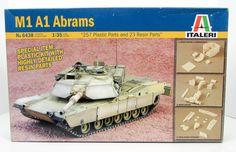 M1 A1 Abrams US Army Tank Italeri 6438 1/35 New Armor Model Kit