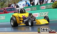 16 November 2013 - Willowbank Raceway Season Finale - Kevin Morton took the event win in the Knijff Earthmoving Modified bracket (credit - dragphotos.com.au)