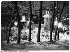 Alexandra gates, High Park by Toronto History, via Flickr
