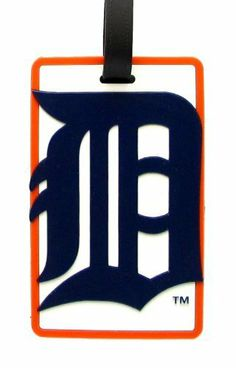 Detroit Tigers - MLB Soft Luggage Bag Tag by aminco. $7.95. Officially licensed by MLB. Laser cut rubber luggage tag. Attractive laser cut rubber luggage tag with Detroit Tigers colors and logo. Reverse side contains clear window housing your contact information.. Save 50%!