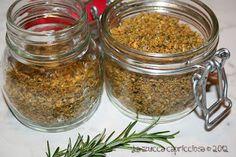 Dado granulare vegetale fatto in casa Spice Rub, Healthy Cooking, Mousse, Salsa, Buffet, Mason Jars, Grains, Spices, Dadi