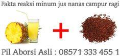 Fakta reaksi minum jus nanas campur ragi pembahasan informasi ragi dan nanas dapat menggugurkan kandungandengan janin kuat.