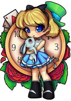 Based on Alice in Wonderland