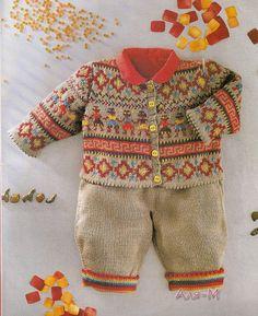 Вязание. Детский костюмчик, спицы. Обсуждение на LiveInternet - Российский Сервис Онлайн-Дневников