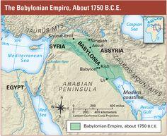 King Hammurabi united  Mesopotamia and made the  city-state of Babylon the capital  of the Babylonian Empire.