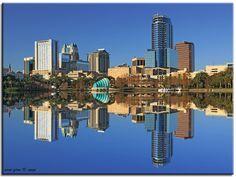 Downtown Orlando - Orlando, Florida