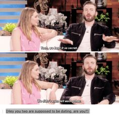 In which Chris Evans is describing both his dating life, and mine. :P