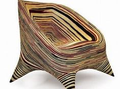 Strangely attractive tooth chair