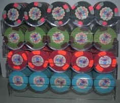 Paulson Tropicana Poker Chips