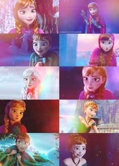 30 Day Disney Animated Feature Challenge Day 2: Favorite Official Princess=Princess Anna, of course