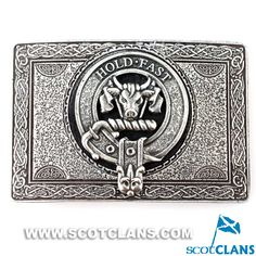 Macleod Clan Crest Belt Buckle