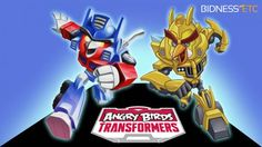 Rovio-Hasbro Bring You Angry Birds: Transformers