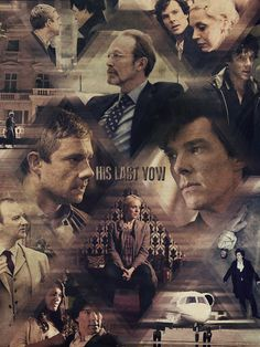 """silent-micka: """" His Last Vow - A Study in Pink The Blind Banker The Great Game A Scandal in Belgravia The Hounds of Baskerville The Reichenbach Fall The Empty Hearse The Sigh of Three The Abominable Bride """""""