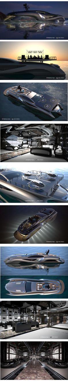 Concept Superyacht Xhibitionist by Gray Design