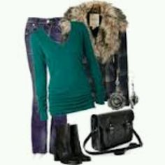 Green and furry!