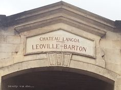 3ª parada, #ChâteauLeovilleBarton Commanderie de Madrid de los vinos de #Burdeos #Molyvade...#viaje #GranConseildesVinsdeBordeaux molyvade.blogspot.com