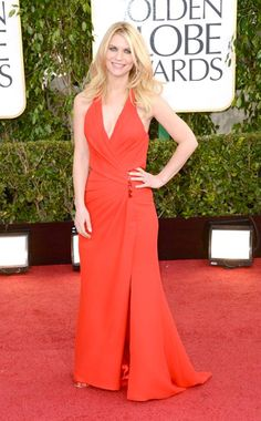 Get the Look: Claire Danes at the Golden Globes.