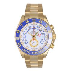 1stdibs.com | Rolex Yellow Gold Yacht-Master II Regatta Wristwatch
