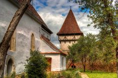 Biserica fortificata Cincsor   by Leon Luca Romania, Most Beautiful, Cabin, Explore, Palaces, House Styles, Palace, Cabins, Cottage