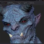 Demon Creation Process - Zbrush Tutorial