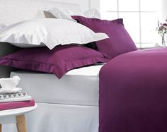 Luxury Percale Single Duvet Cover £25.00 Bright white duvet with a flurry of colourful butterflies. With 2 pillowcases. 48% cotton/52% polyester. Machine washable.
