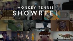 Monkey Tennis - Showreel