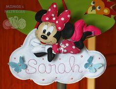 Mimos e Feltrices: Um Mickey e uma Minnie para um mano e uma mana :)