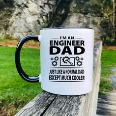 I'm An Engineer Dad Just Like A Normal Dad Except Much Cooler - Mug - Engineer Dad Gift - Engineer Dad Mug by FamilyTeeStore on Etsy