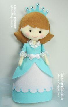 Gracinhas Artesanato: Ai as princesas....!