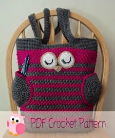 Crochet Diaper Bag Pattern