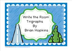Write The Room Trigraphss is perfect for 1st graders and 2nd graders or late in the year for Kindergarten. Children write the room as they find pictures of Tripgraphs (8 total) and write the sound or the whole word on the worksheet. This is perfect for reading centers or early finishers and will get your students up and moving!