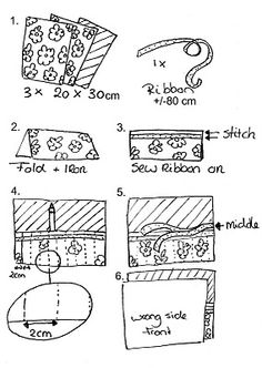 B.D.Designs: Pencil Roll Tutorial!