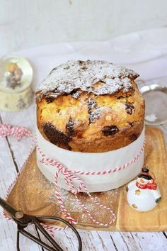 Csokoládés-narancsos panettone recept - Kifőztük, online gasztromagazin Gourmet Recipes, Cookie Recipes, Ring Cake, How To Cook Pasta, Cake Cookies, Italian Recipes, Food Print, Biscotti, Muffin