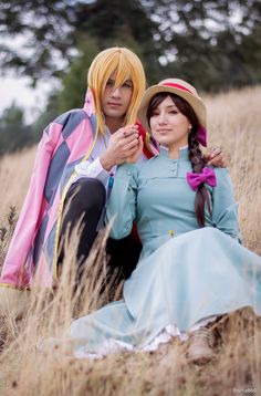Sophie y Howl de Howl's Moving Castle by rocha86