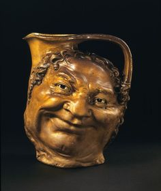 Moon Face Jug  English, 1906, Robert Wallace Martin  Salt-glazed stoneware