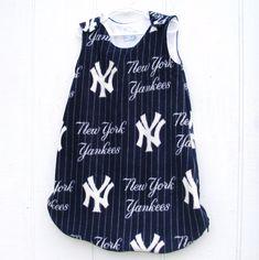 Yankees Baby Sleeper Blanket Sack  Zipper on by CJsFineDesigns, $24.00