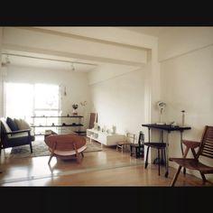 bananayamamotoさんの、ジャンク,北欧,古道具,アンティーク,塩系インテリア,部屋全体,のお部屋写真