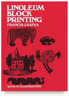 Linoleum Block Printing  Print simple monograms, convert photos to block prints, print in two or more colors. You'll think of much more because there are 175 illustrations to encourage you. The instructions are step-by-step