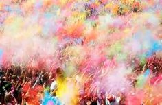Image result for powder colour explosion