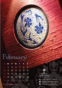 Our February 2015 calendar.